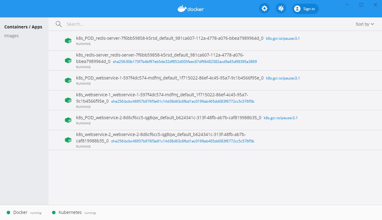 Docker Desktop Dashboard testing Node.js Redlock